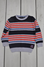 Kids boys knitted pullover -Blue Seven-Night Blue