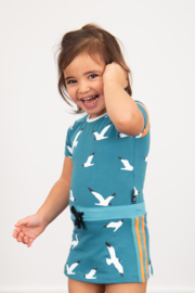 Lovestation22-Girls Baby XS Dress Nikita-Sea Blue