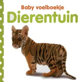 Baby voelboekje - Dierentuin-CBC-Wit