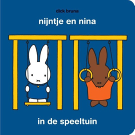 CBC-Bruna-Nijntje en Nina in de speeltuin-Met puzzel-Blue