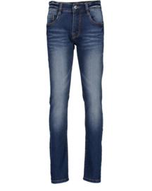 Blue Seven-Boys woven jeans trouser -basic- Dk blue orig