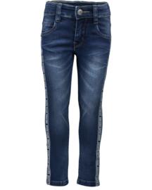 Kids Boys woven jeans trouser-ROBOT SQUAD-Blue Seven-DK BLUE ORIG