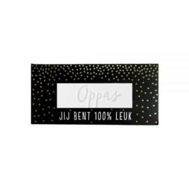 Complimenten zeep – Oppas-100% Leuk- Black