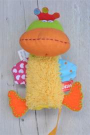 Duck Fingerpuppet-Dushi-div kleuren