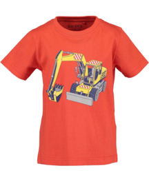 Blue Seven-Kids small Boys knitted T-shirt-Tomato orig