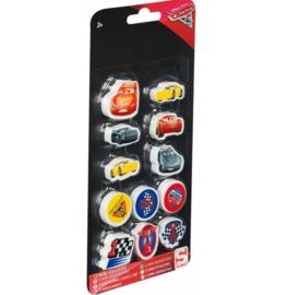 Cars 3 mini gummen 12 stuks-C-diverse kleuren