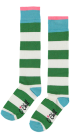 OChill-Girls Socks- Green-White