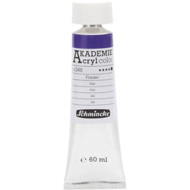 Acryl color- lilac (348), opaque, good fade resistant, 60ml-Schmincke AKADEMIE