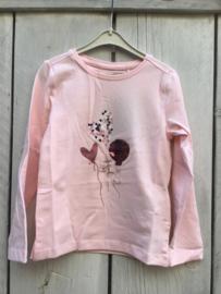 Kids Girls knitted T-Shirt -Blue Seven- Rose