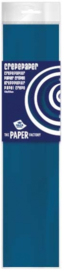 Haza Original crêpepapier The Paper Factory 250 cm-C- Blue
