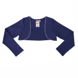 Girls Basic Bolero-LoFff-  Dark blue