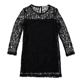 Girls Lace Dress- DJDutchJeans- black