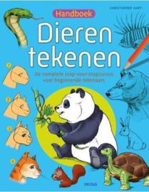 Deltas-Handboek dieren tekenen- Blue