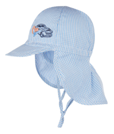 Baby Boys Cap Car service-Ewers-blue