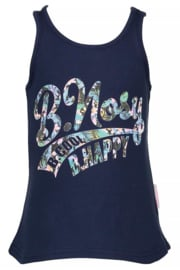 B.Nosy-Girls tanktop with small top- Blueberry