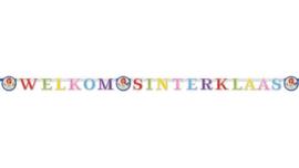 Letterslinger Sinterklaas Welkom Sinterklaas-C.W.-Multi Color