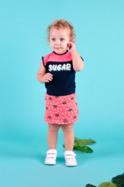 Baby girls dress with tiger dots -B.Nosy-tiger dots
