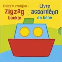 """Baby""""s vrolijke zigzag boekje-Deltas- div kleuren"""