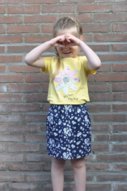 Blue Seven-Kids Girls knitted skirt -Night Blue orig