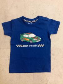 Blue Seven-Mini Boys knitted shirt-Ocean