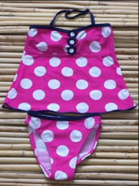 Girls Tankini- lentiginni- Roze
