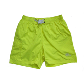 Unisex Zwemshort Coconut - Just Beach- Neon Yellow