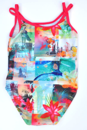 Girls Toddler swimsuit- lentiginni- diverse kleuren