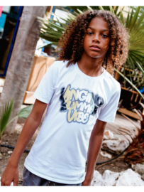 Vingino-Boys T Shirt Halvor-Real white