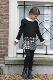 Girls Bouncy skirt- LoFff- Black