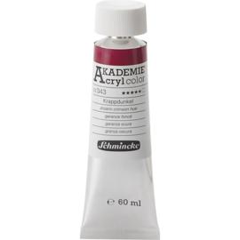 Acryl color-alizarin crimson hue (343), transparent, extr. fade resistant, 60ml-Schmincke AKADEMIE