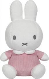 Tiamo-C.W.-Knuffel 20cm nijntje pink baby rib-Pink
