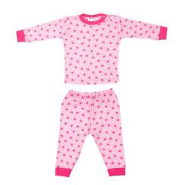 Beeren-LPC-Baby Girls Pyjama stars-Rose