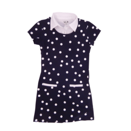 Girls Dress Madrid- LoFff- Blue dots