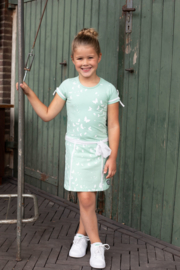 LoFff- Girls Fancy dress Big Bow-Mint