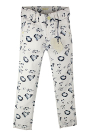 DJ Dutch Jeans-Girls Trousers About Love- White