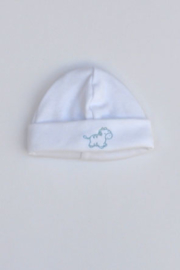LPC-Baby Boys pre Hat Animals-White