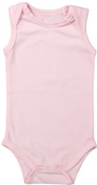 Girls Baby romper mouwloos- Dirkje- Light Pink