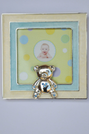 Boys Fotolijst Baby Bear-Fashion Jewelry-Lightblue