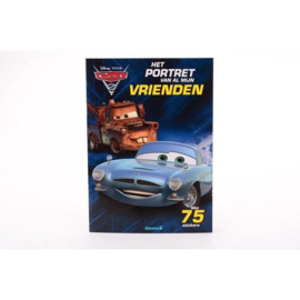 Disney pixar cars-CW-Het portret van al mijn vrienden - Blue