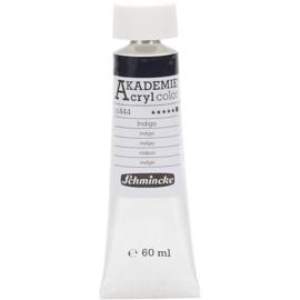 Acryl color-indigo (444), opaque, extr. fade resistant, 60ml-Schmincke AKADEMIE