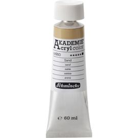 Acryl color-buff titanium deep (660), opaque, extr. fade resistant, 60ml-Schmincke AKADEMIE