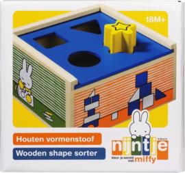 C.W.-Nijntje houten vormenstoof- Multi Color