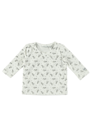 Bampidano-New Born Unisex T-shirt-Off white