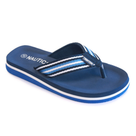 Unisex Flip-flop Trevano with Nautical upper-Libaco-Navy