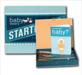 Het baby startpakket- T-Blue