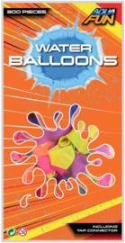 Waterballonnen Aqua Fun JohnToy 300 stuks- C- Diverse kleuren