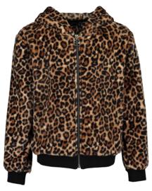 Blue Seven-Girls knitted jacket - Brown orig