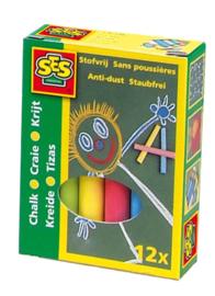 Schoolbord krijt-C-Diverse kleuren