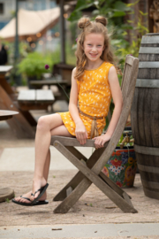 Lovestation22-Girls Dress Neeltje-Yellow