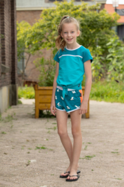Lovestation22-Girls Short Pia -Sea Blue
